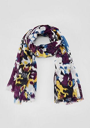 Kleurrijke sjaal met pailletjes