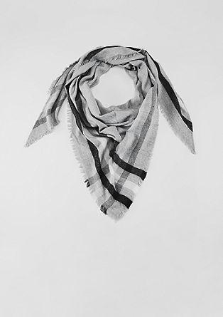 Sjaal met glinsterende details