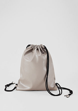 Gym bag with a drawstring from s.Oliver
