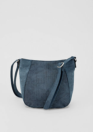 City Bag mit Prägemuster