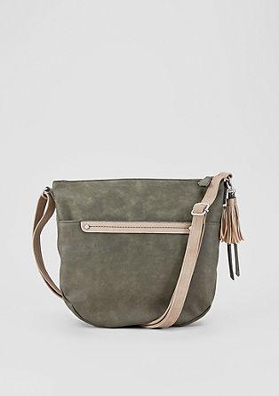Shoulder Bag mit Zierleiste