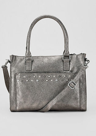 Shopper with studs from s.Oliver