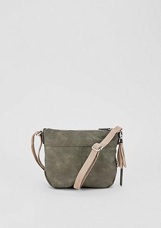 Středně velká kabelka sdvoubarevným designem