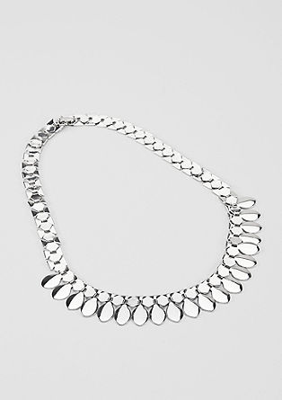 Metal statement necklace from s.Oliver