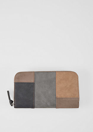 Zip wallet in a mix of colours from s.Oliver
