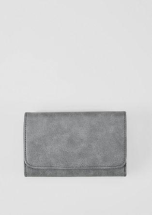 Flap Wallet mit feiner Narbung