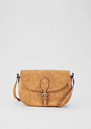 Středně velká kabelka svyraženými detaily