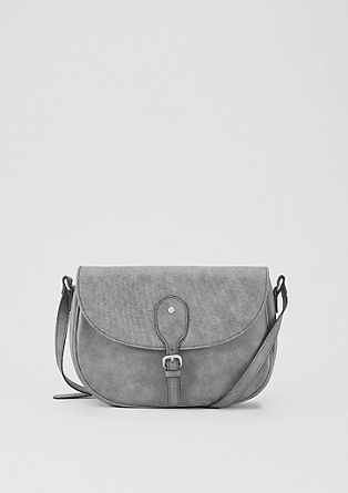 City bag with embossed details from s.Oliver