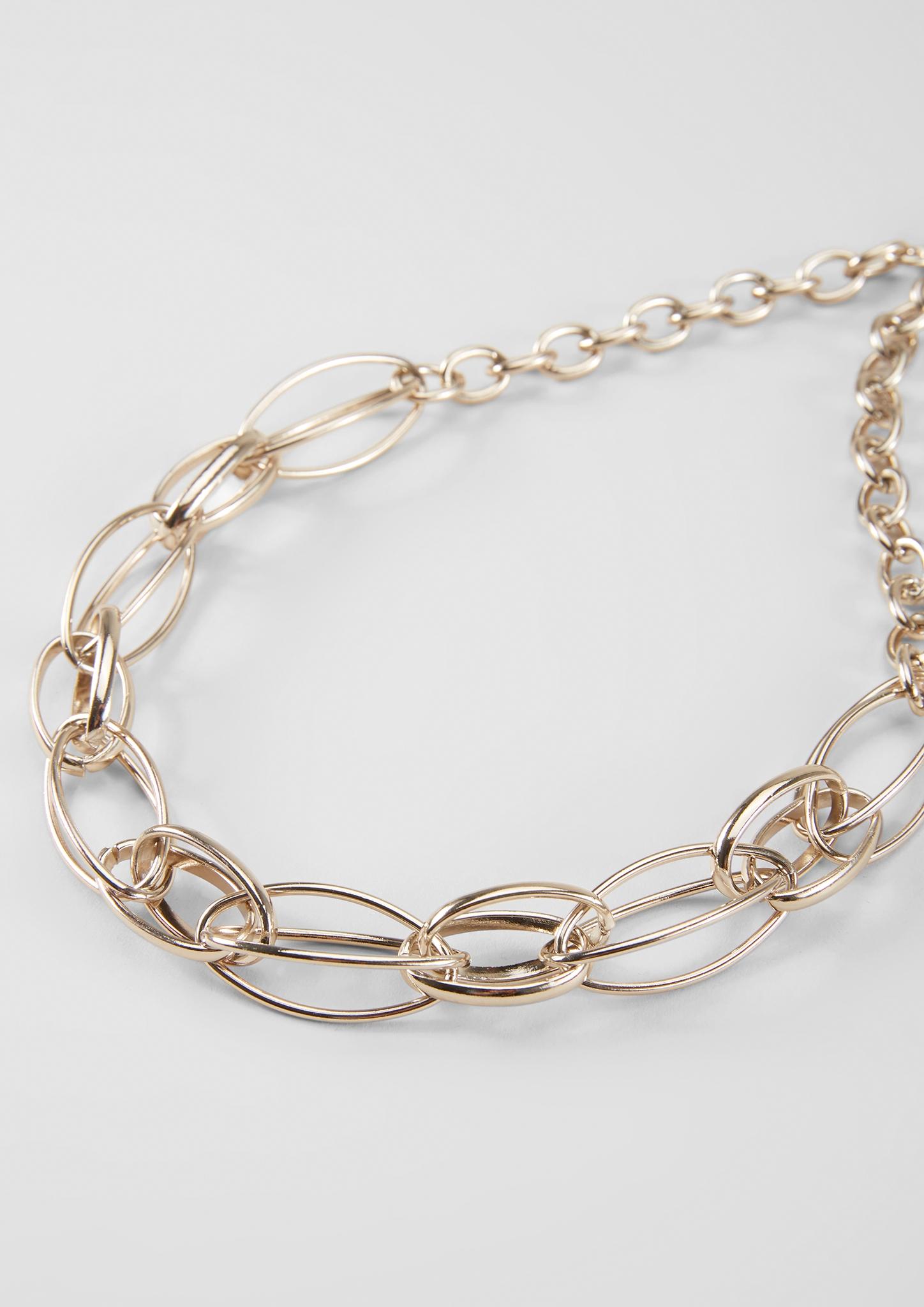 Statement-Kette | Schmuck > Halsketten > Statementketten | Weiß | 100% metall | s.Oliver