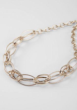 Výrazný náhrdelník s ozdobnými očky