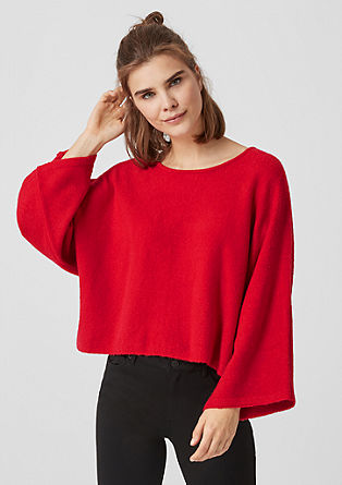 Soft knit poncho from s.Oliver