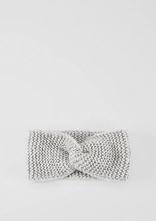 Rib knit headband   from s.Oliver