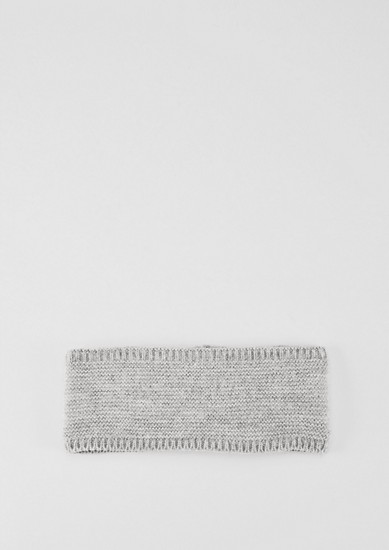 Knitted hairband with fleece lining from s.Oliver