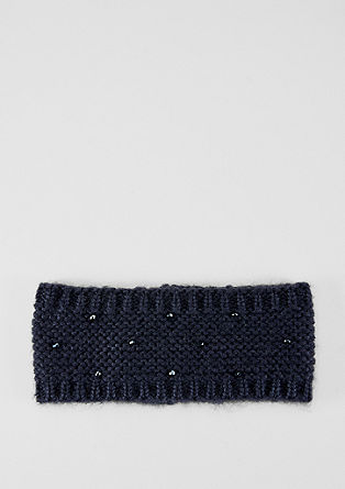 Haarband met sierkraaltjes