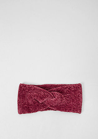 Chenille headband from s.Oliver