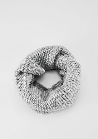 Snood with gemstones from s.Oliver