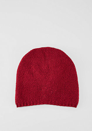 Lightweight beanie in a textured knit from s.Oliver