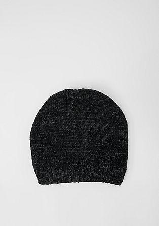 Kuschelige Chenille-Mütze