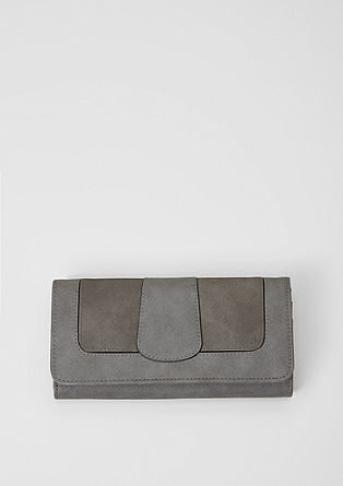 Mixed material purse from s.Oliver