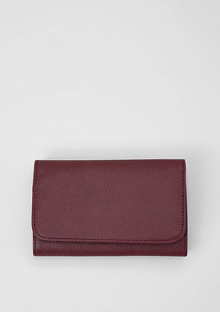 Roomy flap wallet from s.Oliver
