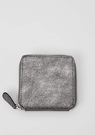 Square zip wallet from s.Oliver