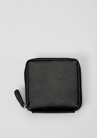 Quadratisches Zip Wallet