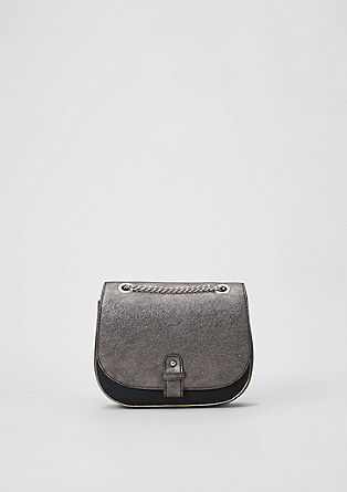 City Bag mit Metallic