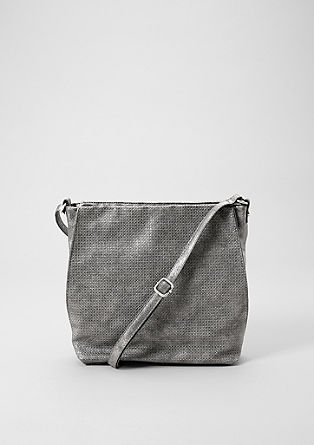 Shoulder Bag mit Strukturmuster