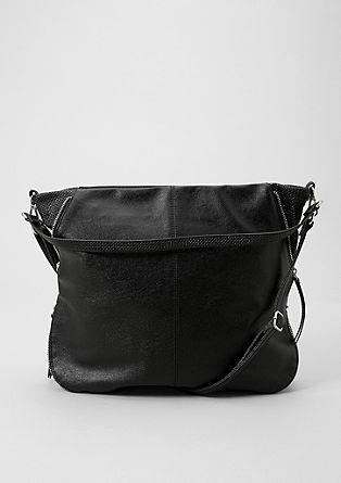 Große Hobo Bag mit Struktur-Details