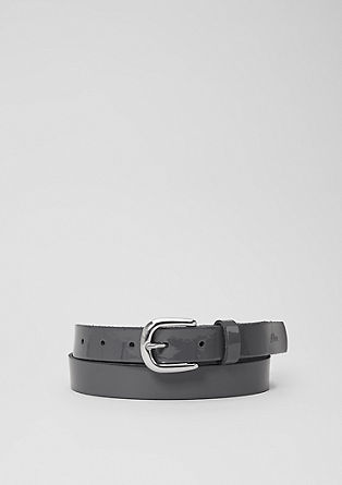 Patent leather belt from s.Oliver