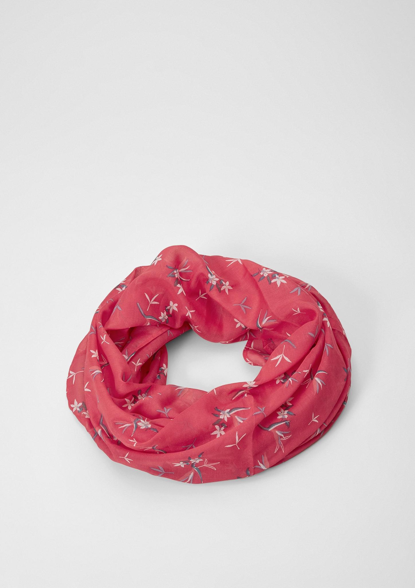 Loop | Accessoires > Schals & Tücher > Loops | Pink | 100% polyester | s.Oliver