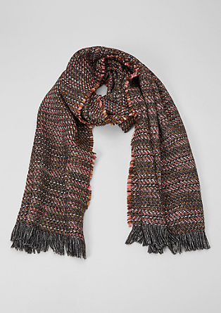 Scarf with a metallic effect from s.Oliver