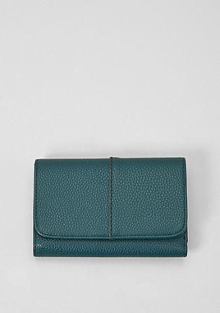 Flap Wallet mit Struktur