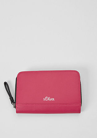 Zip purse with a colour accent from s.Oliver