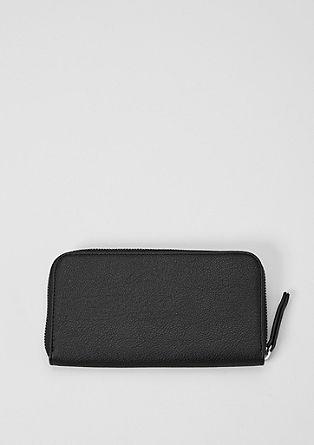 Jednoduchá a elegantní peněženka na zip
