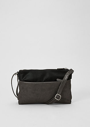 City bag in een two-tone look