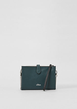 Mini clutch with chain details from s.Oliver