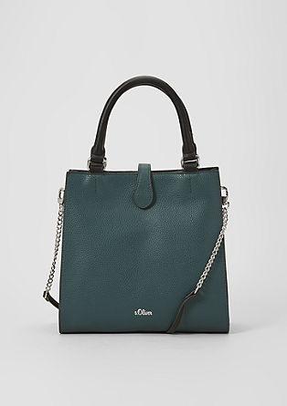 City Bag mit Kontrast-Details