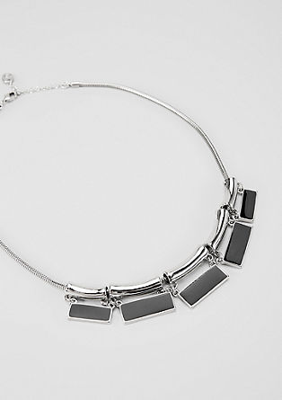 Necklace in a geometric design from s.Oliver