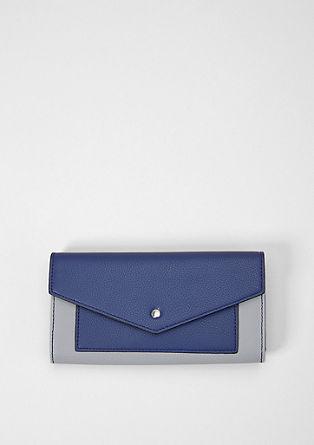 Portemonnee met klep en minimalistische look