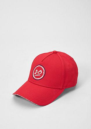 Baseball Cap mit Label-Stitching
