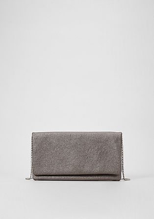 Clutch im Metallic-Look