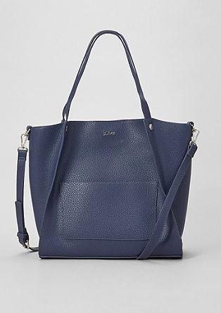 elegantna nakupovalna torba v videzu usnja