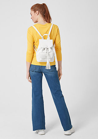 Charming faux leather rucksack from s.Oliver