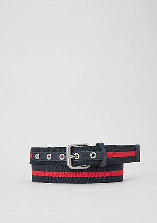 Stretchy woven tape belt from s.Oliver