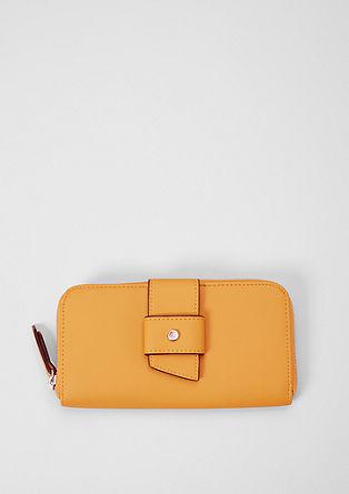 Zip Wallet mit Zierriegel