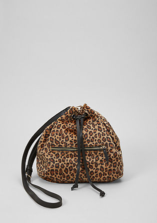 Hobo Bag in Fell-Optik