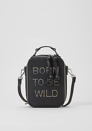 City Bag mit Statement Wording