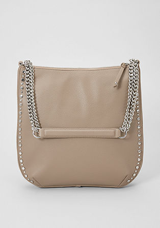 Shoulder Bag mit Nieten