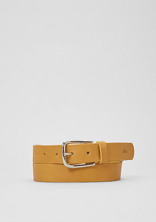 Fashionable leather belt from s.Oliver